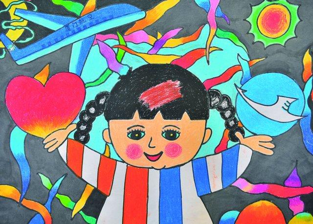 客运部常客处组织了以飞翔的梦想为主题的厦门航空25周年儿童绘画比赛图片